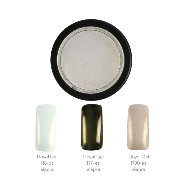 Crystal Nails ChroMirror króm pigmentpor - Shiny Pearl 1