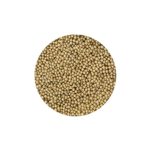 Szórógyöngy apró - gold