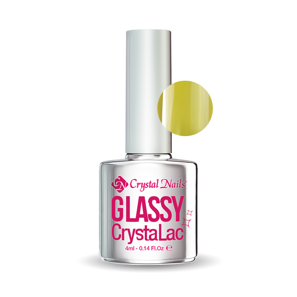 GLASSY CRYSTALAC - YELLOW (4ML)