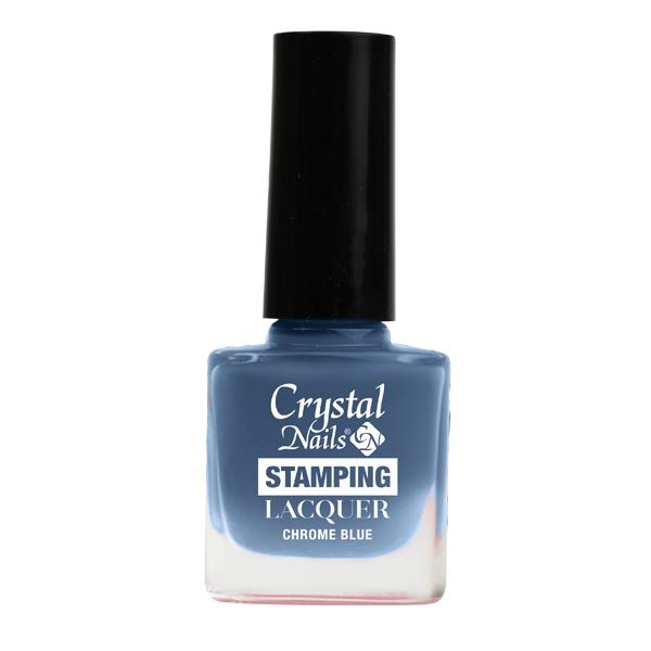 Stamping lacquer nyomdalakk - Chrome blue