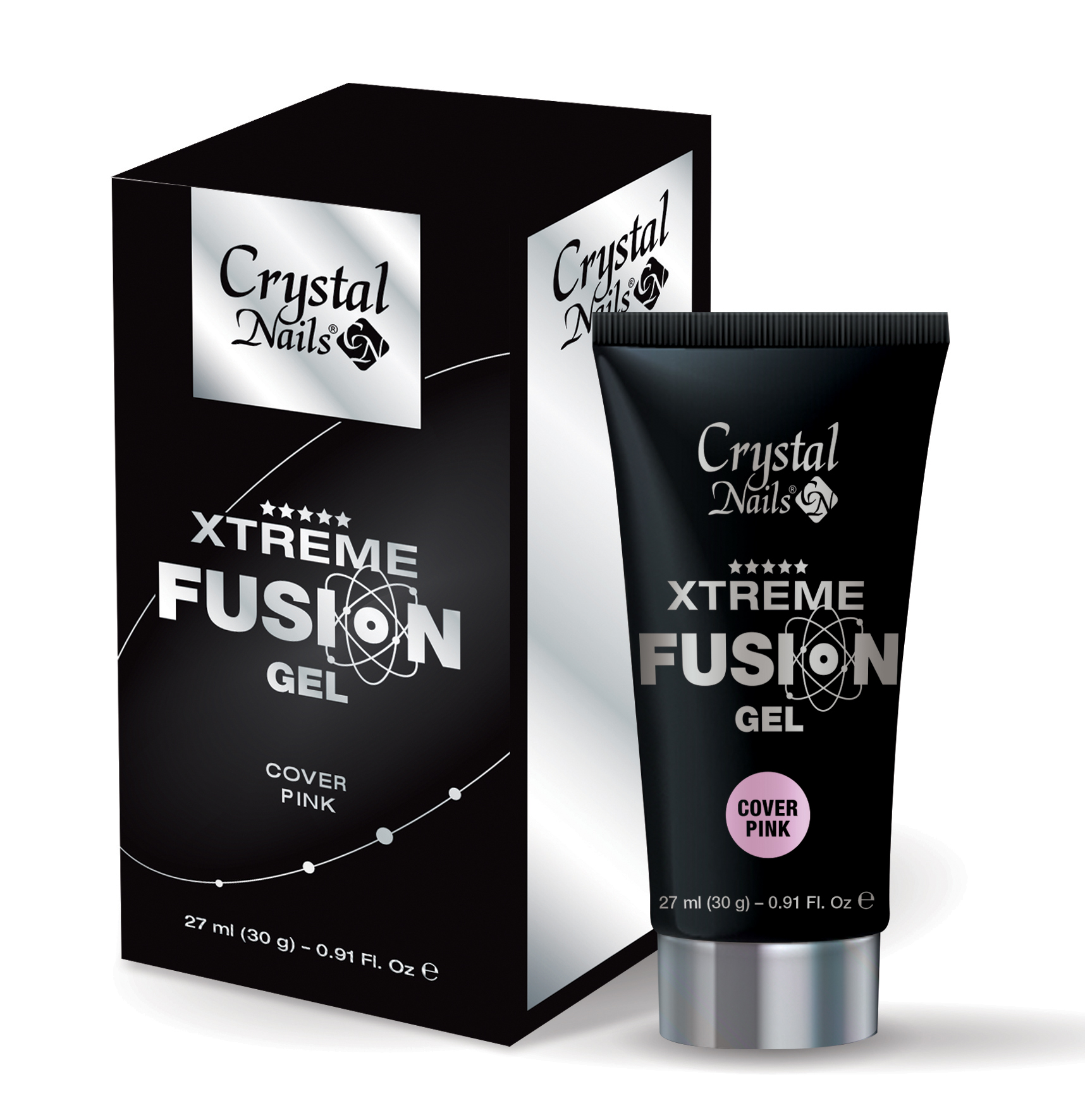 Xtreme Fusion Acrylgel Cover Pink 30G
