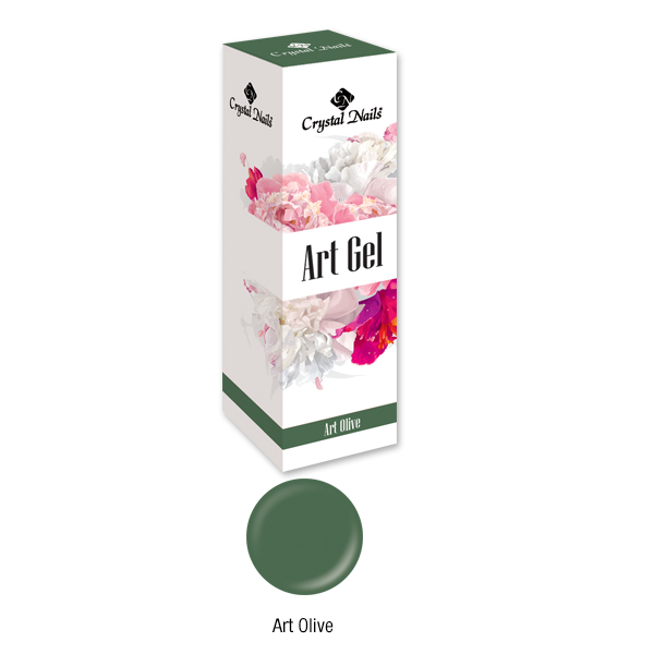 Art Gel festőzselé - Olive (5ML)