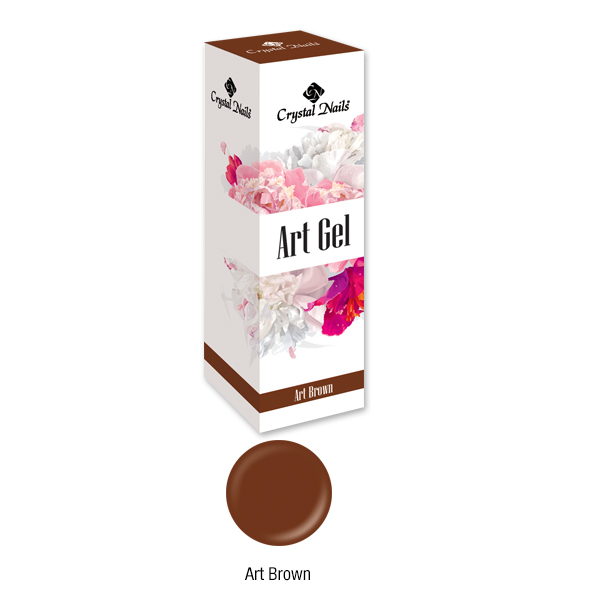 Art Gel festőzselé - Brown (5ML)