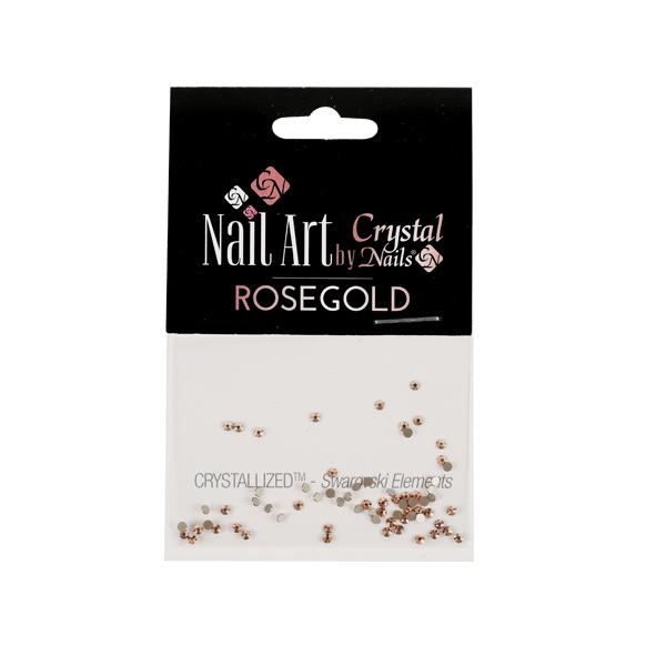 Swarovski-kristály - Rosegold - 20DB (SS7)
