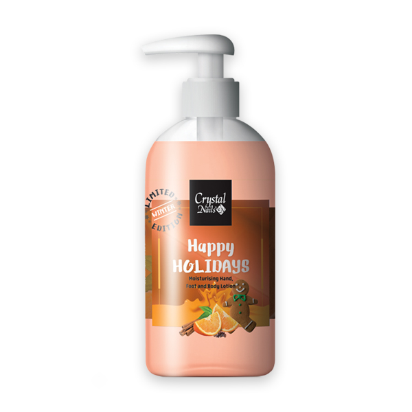Moisturising Hand, Foot and Body Lotion - Happy Holidays 250ml - Limitált!