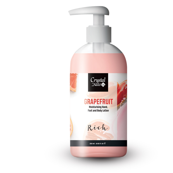 Moisturising Hand, Foot and Body Lotion - Grapefruit Lotion - Rich 250ml - Limitált!