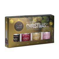 Új! All I Want For Christmas… ONE STEP CrystaLac készlet (4x4ml)