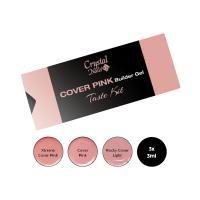Cover Pink Builder Gel Taste kit