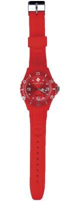 Crystal Fashion karóra - red mandarin
