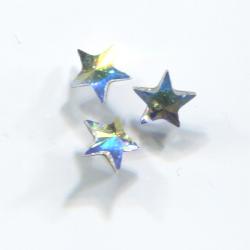 CRYSTALLIZED™ - Swarovski Elements csillag - szivárvány 5mm