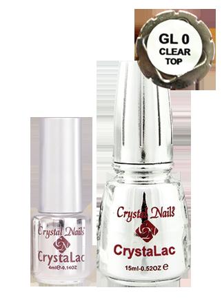 GL0 Clear/TOP CrystaLac - 4ml