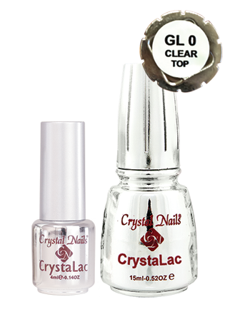 GL0 Clear/TOP CrystaLac - 15ml