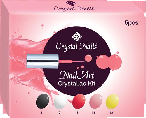 NailArt CrystaLac készlet
