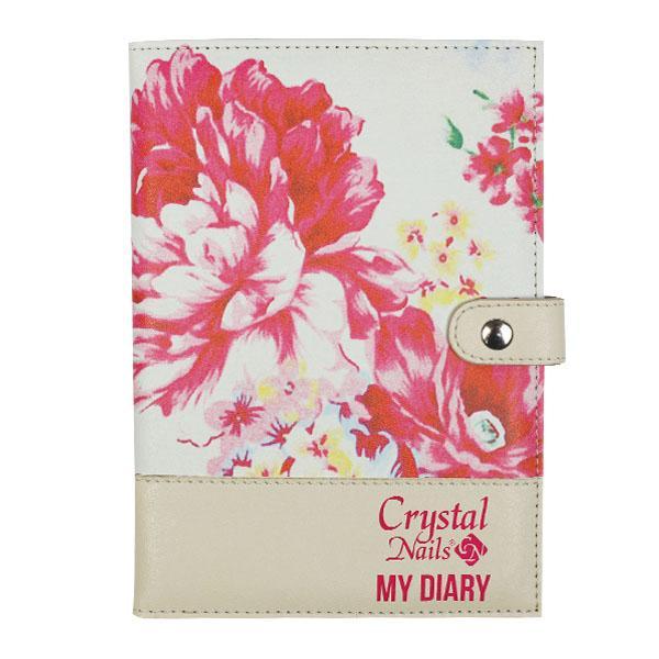 Új! Crystal Nails Naptár 2017 - Virágos