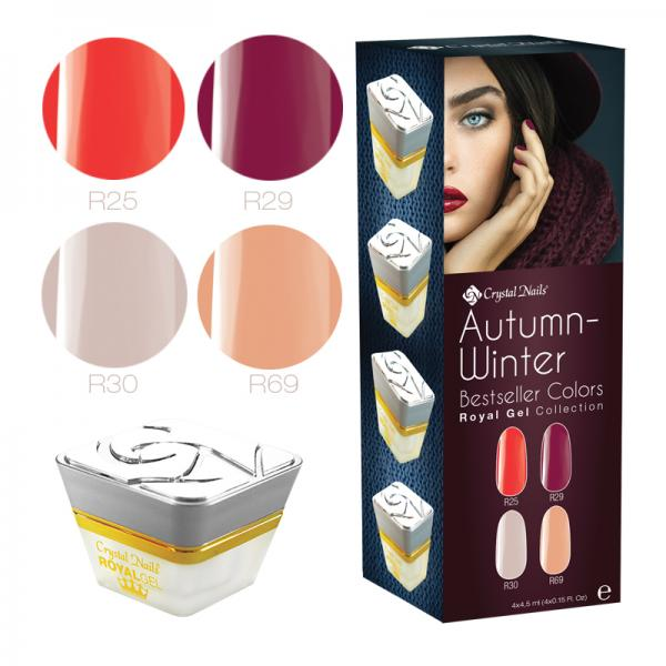 Új! Bestseller Colors Autumn/Winter 2016 Royal Gel készlet