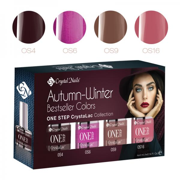 Új! Bestseller Colors Autumn/Winter 2016 ONE STEP CrystaLac készlet