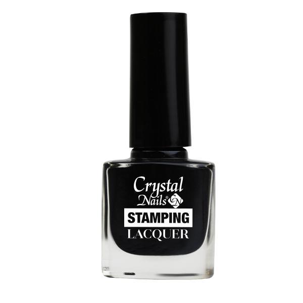 Stamping Lacquer nyomdalakk - fekete (4ml)