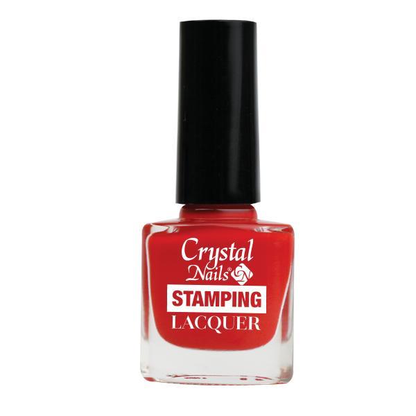 Stamping Lacquer nyomdalakk - piros (4ml)