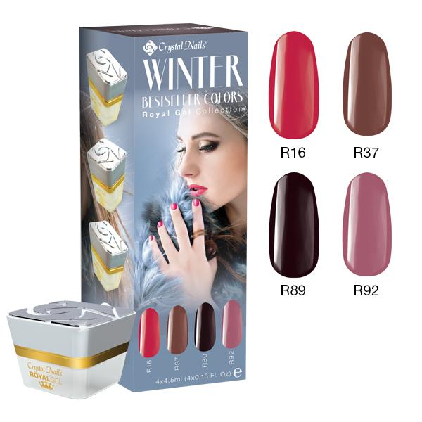 Bestseller Colors Winter 2016 Royal Gel készlet