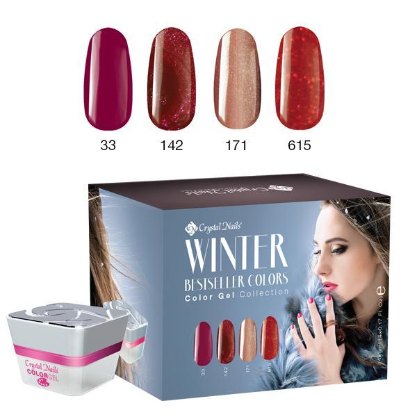 Bestseller Colors Winter 2016 színes zselé készlet