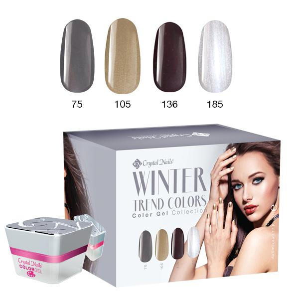 Trend Colors Winter 2016 színes zselé készlet