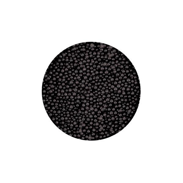 Szórógyöngy apró - black