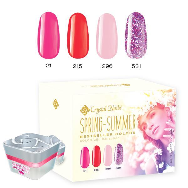 2017 Bestseller Colors Spring-Summer színes zselé készlet