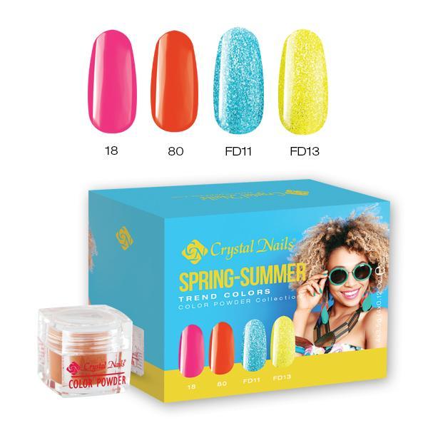 Trend Colors Spring-Summer 2017 színes porcelán készlet
