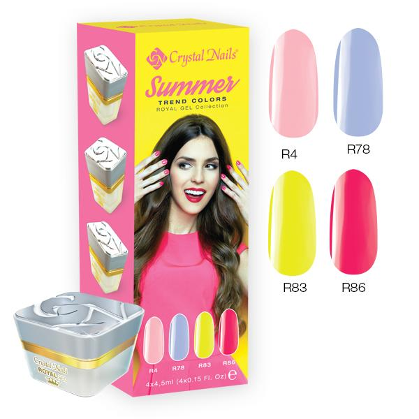 2017 Trend Colors Summer Royal gel kit