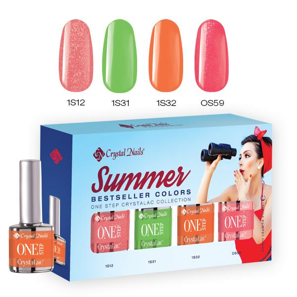 2017 Bestseller Colors Summer One Step kit
