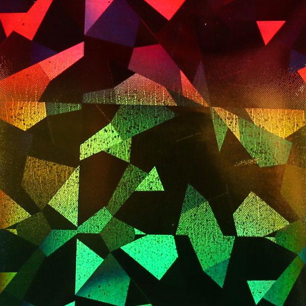 Transzferfólia - Holo tükör rainbow
