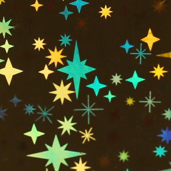Transzferfólia - Holo starlight