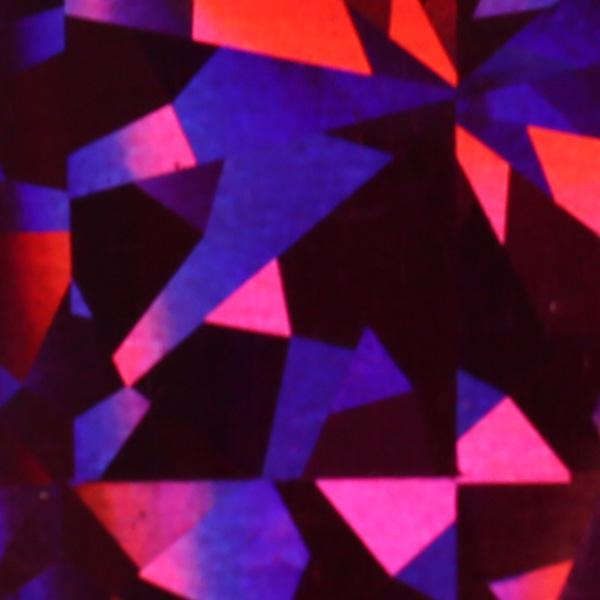 Transzferfólia - Holo tükör pink