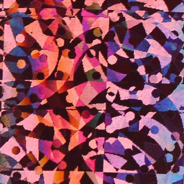 Transzferfólia - Jégkristály pink