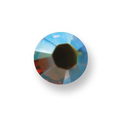 Osztrák Kristály - 203AB Topaz Aurora Borealis (SS7 - 2,3mm)