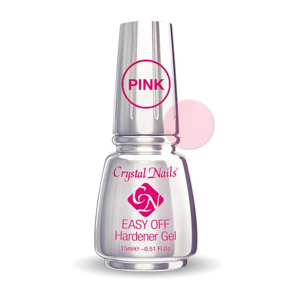 Easy Off Hardener Gel (Pink) - 15ml