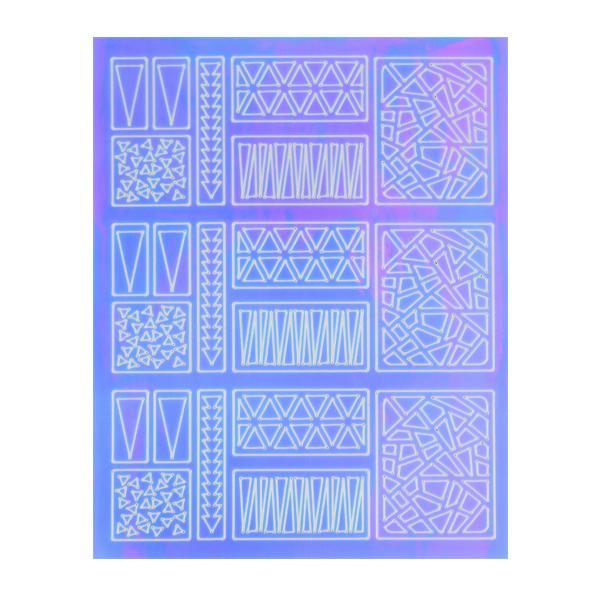 Mirror Nail Art Sticker 2