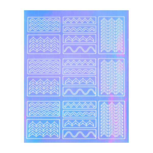 Mirror Nail Art Sticker 4