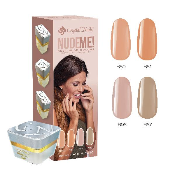 Nude me! Royal Gel készlet - 4x4,5ml