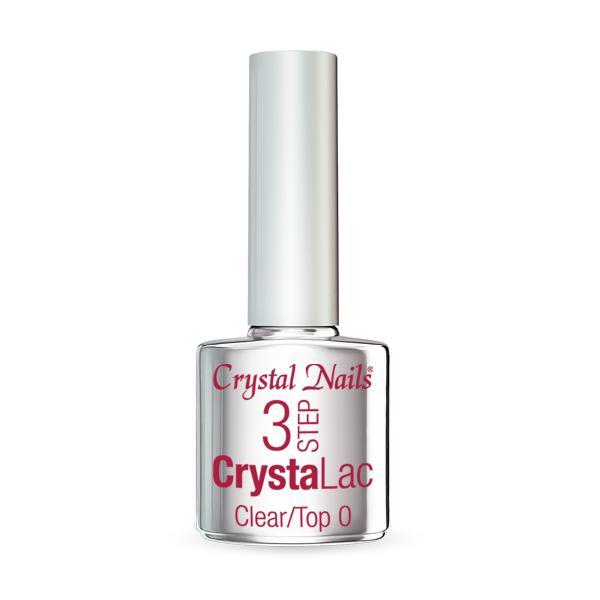 3 STEP CrystaLac - Clear/Top 0 (8ml)