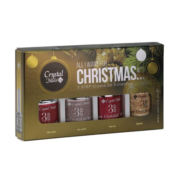 Új! All I Want For Christmas… 3 STEP CrystaLac készlet (4x4ml)