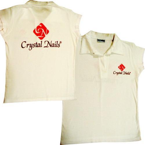 Crystal Nails póló fehér XXL