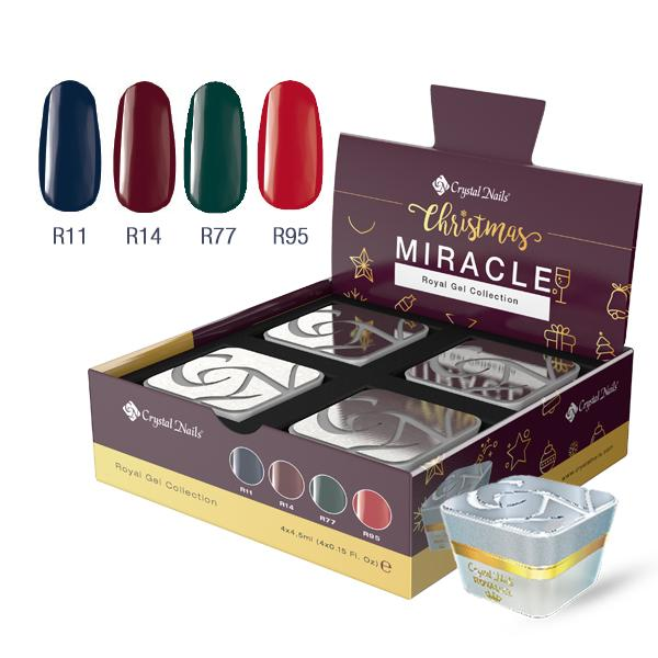 Christmas Miracle Royal Gel készlet (4x4,5ml)