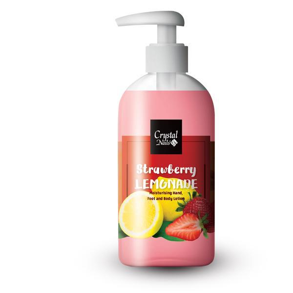 Moisturising Hand, Foot and Body Lotion - Strawberry Lemonade 250ml
