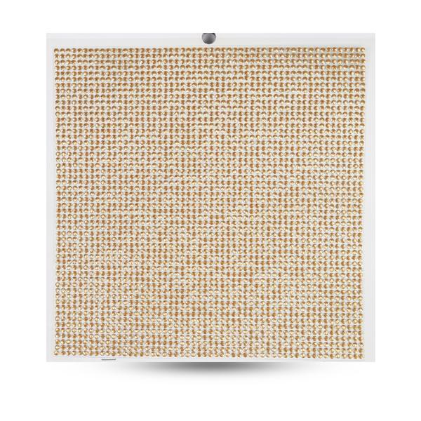 Crystal Sticker dekor fólia - Arany 20x20cm