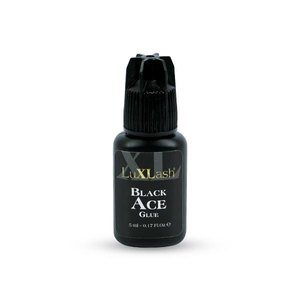 LuXLash Black Ace Glue - fekete pillaragasztó 5ml