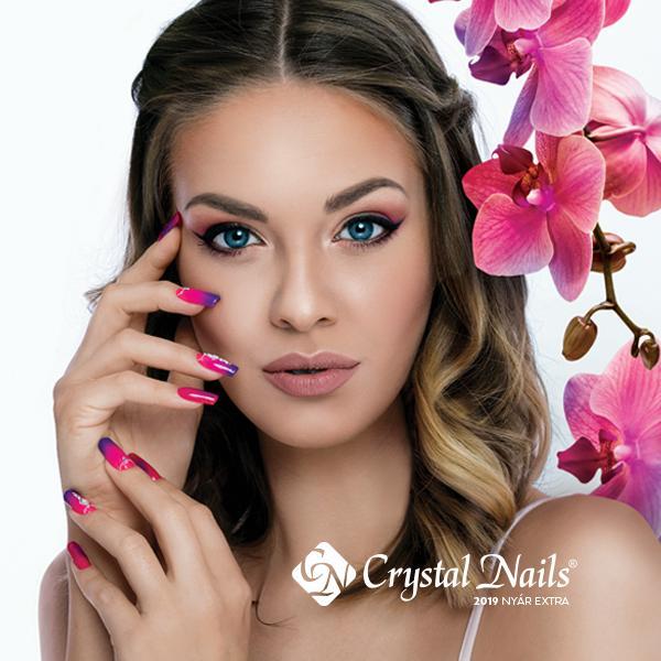 Crystal Nails 2019 Nyár kiegészítő katalógus