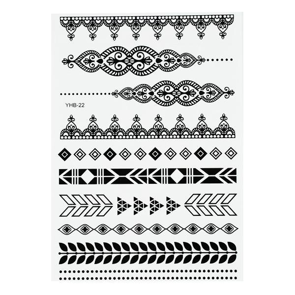 CN tetoválós matrica 7