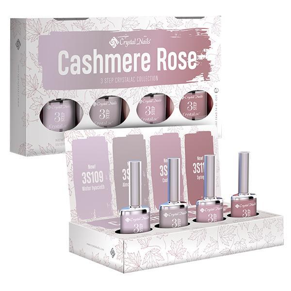 2019 4colors4display 3 STEP CrystaLac készlet - Cashmere Rose