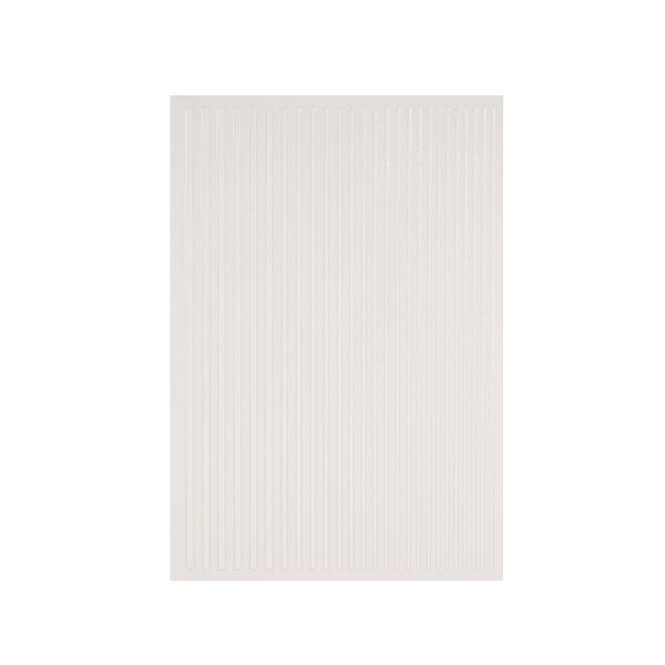 Magic stripes sticker - WHITE